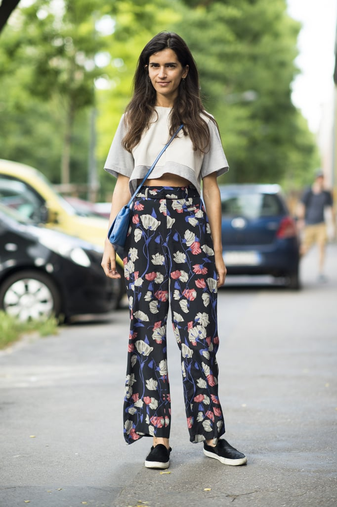 Easy does it — proof that laid-back proportions and walkable footwear can be just as wow-worthy. Source: Le 21ème | Adam Katz Sinding