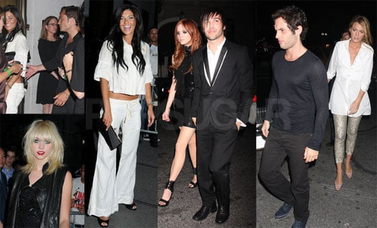 Photos of Ashlee Simpson, Blake Lively, Chace Crawford, Ed Westwick, Penn Badgley, Jessica Szohr at CW Upfronts After-Party