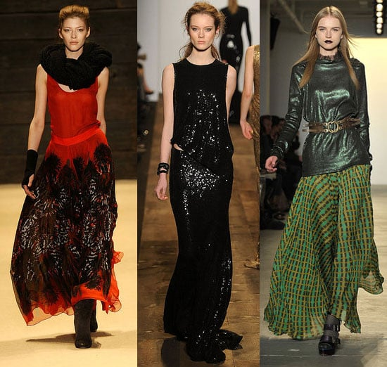 Fall 2010 New York Fashion Week Trend: Long Skirts
