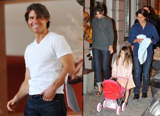 Pictures of Tom Cruise Scouting Locations For Mission Impossible 4 in Prague 2010-09-22 15:00:00