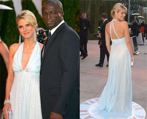 Heidi and Seal at VF Oscar Party