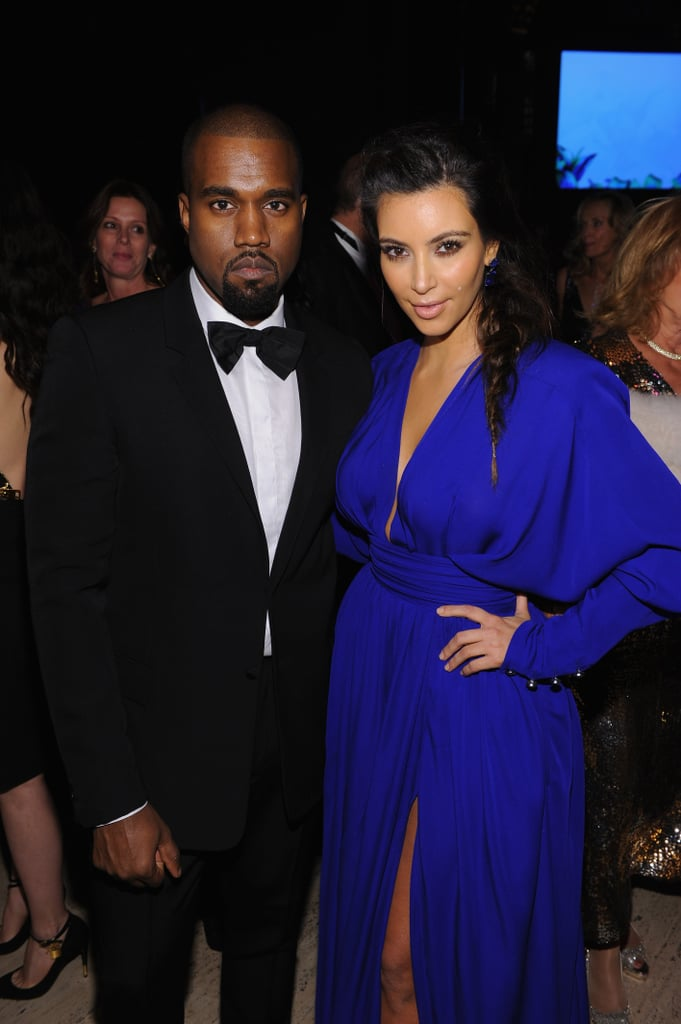 Kim Kardashian and Kanye West Dress to the Nines For an NYC Bash