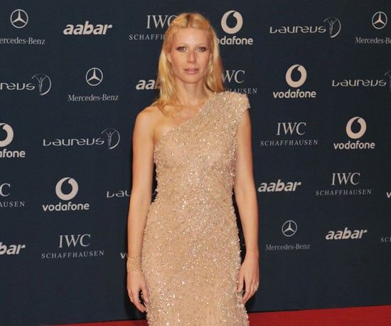 Slide Photo of Gwyneth Paltrow at the Sports Awards in Abu Dhabi