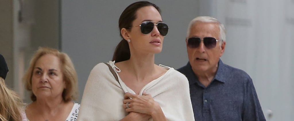 Just Looking at Angelina Jolie's Shopping Outfit Will Make You Feel Like a Movie Star