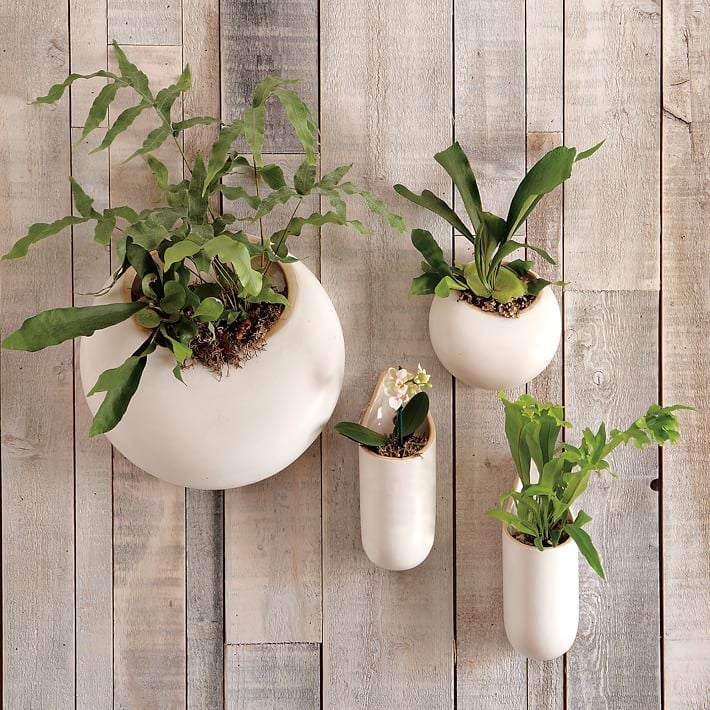 Ceramic Wall Planters ($19) | The 37 Prettiest Hanging ...