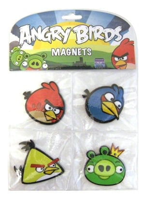 Angry Birds 4 Pack Magnet Set ($9)
