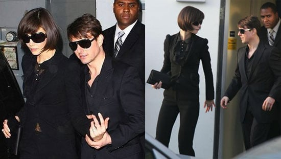 Tom Cruise And Katie Holmes Attend Heath Ledger's Memorial Service
