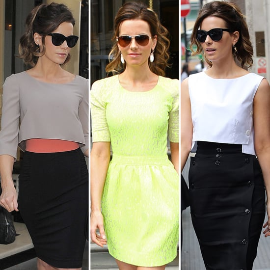 Kate Beckinsale Total Recall Promotion Looks (Shopping)