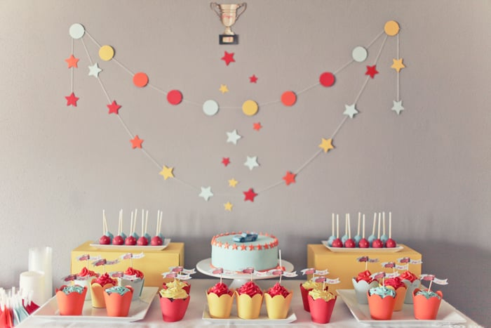 A Cars-Themed Birthday Party