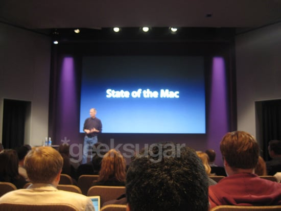 geeksugar Live Blogs the 2008 Apple MacBook Announcements