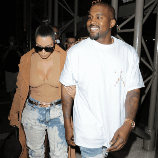 Kim Kardashian and Kanye West Out in LA May 2016