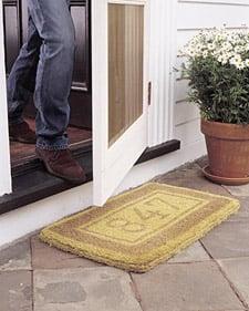 DIY: Custom Doormat