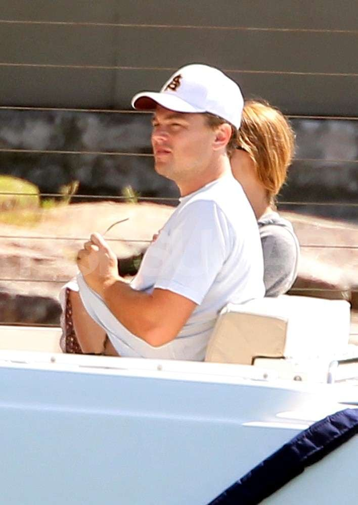 Leonardo and Tobey's Family Set Sail in Sydney Together