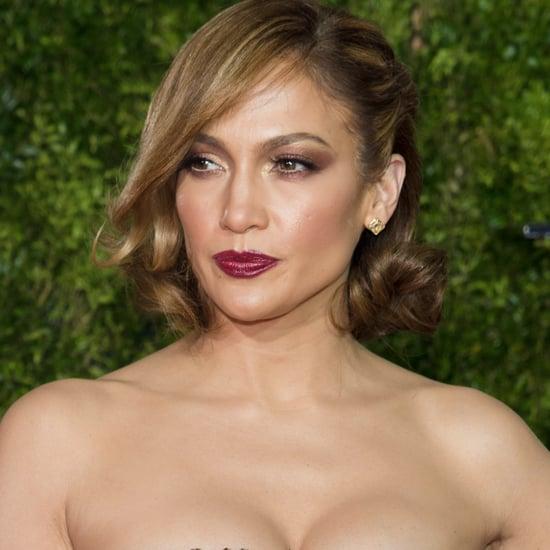 Jennifer Lopez Naked Dress Trend | Video