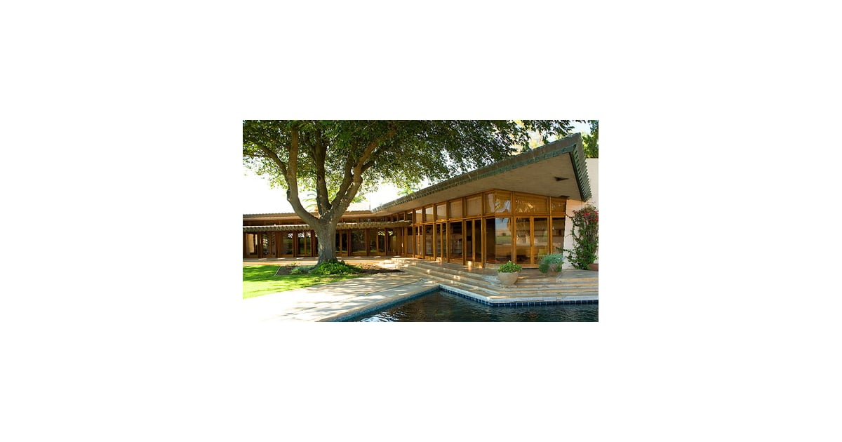 On the market a frank lloyd wright home in central for Frank lloyd wright houses in california