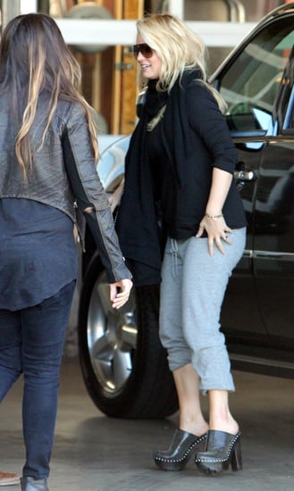 Pictures of Jessica Simpson Arriving For a Photo Shoot in Hollywood