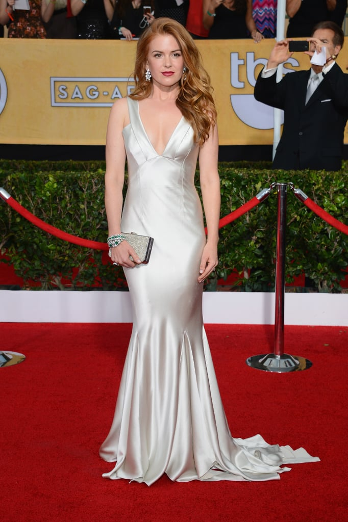 Isla Fisher at the SAG Awards 2014