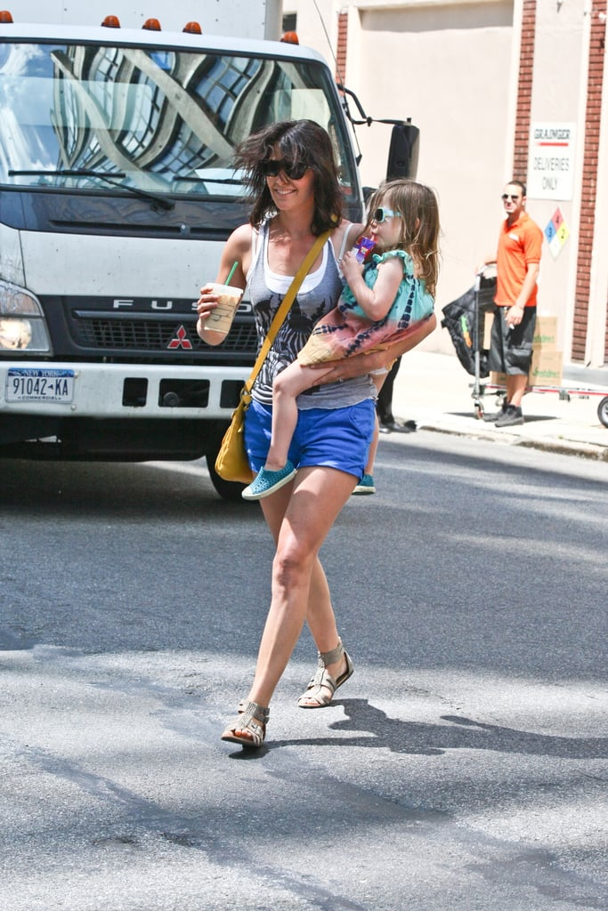 Cobie Smulders spent the day with her daughter Shaelyn Killam.