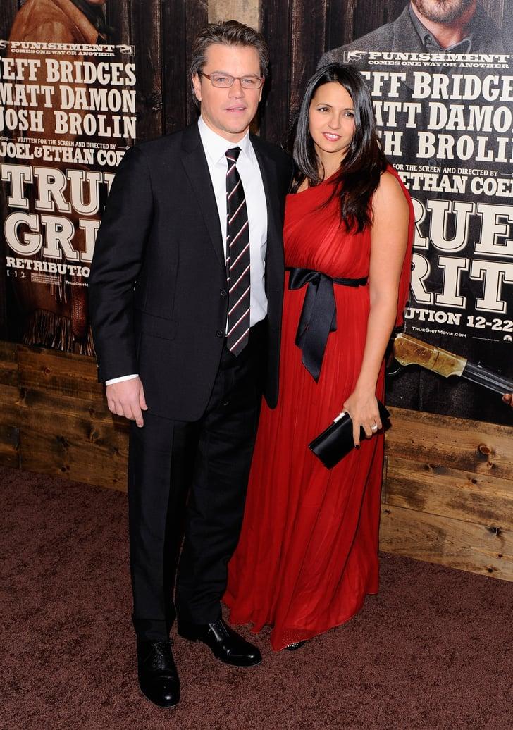 Pictures of Matt Damon, Luciana Damon, Jeff Bridges at NYC True Grit Premiere 2010-12-15 06:00:00