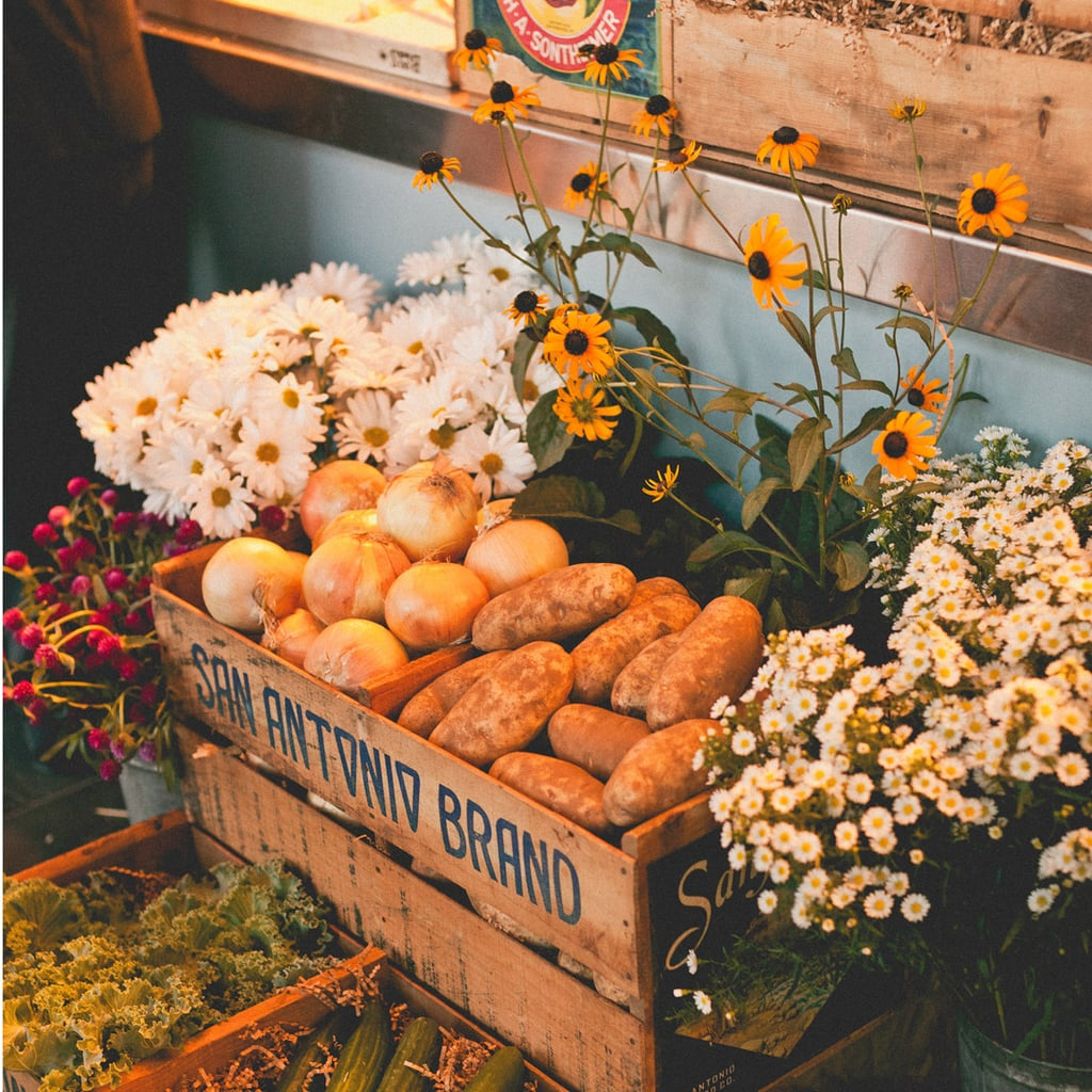 Kristin and her mother turned over every antique store in the area to find the haul of treasures that brought the day to life, including eight vintage fruit crates. Related: Most Over-the-Top Marriage Proposals Source: Sweet Little Photographs