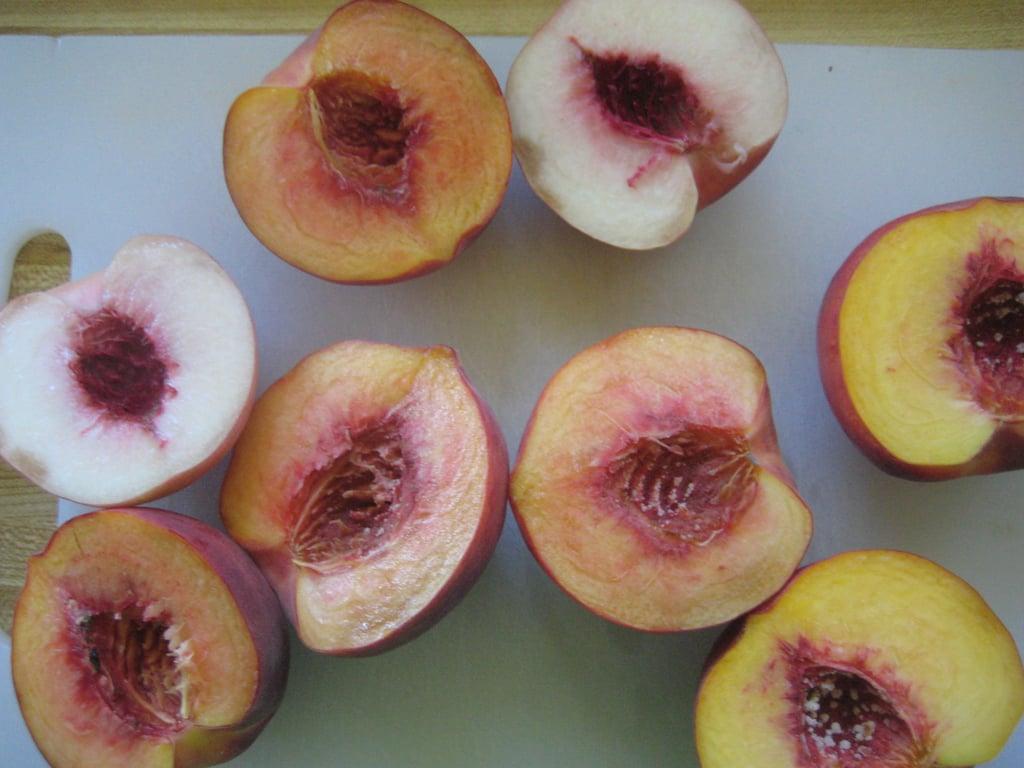 Pancetta Wrapped Peaches