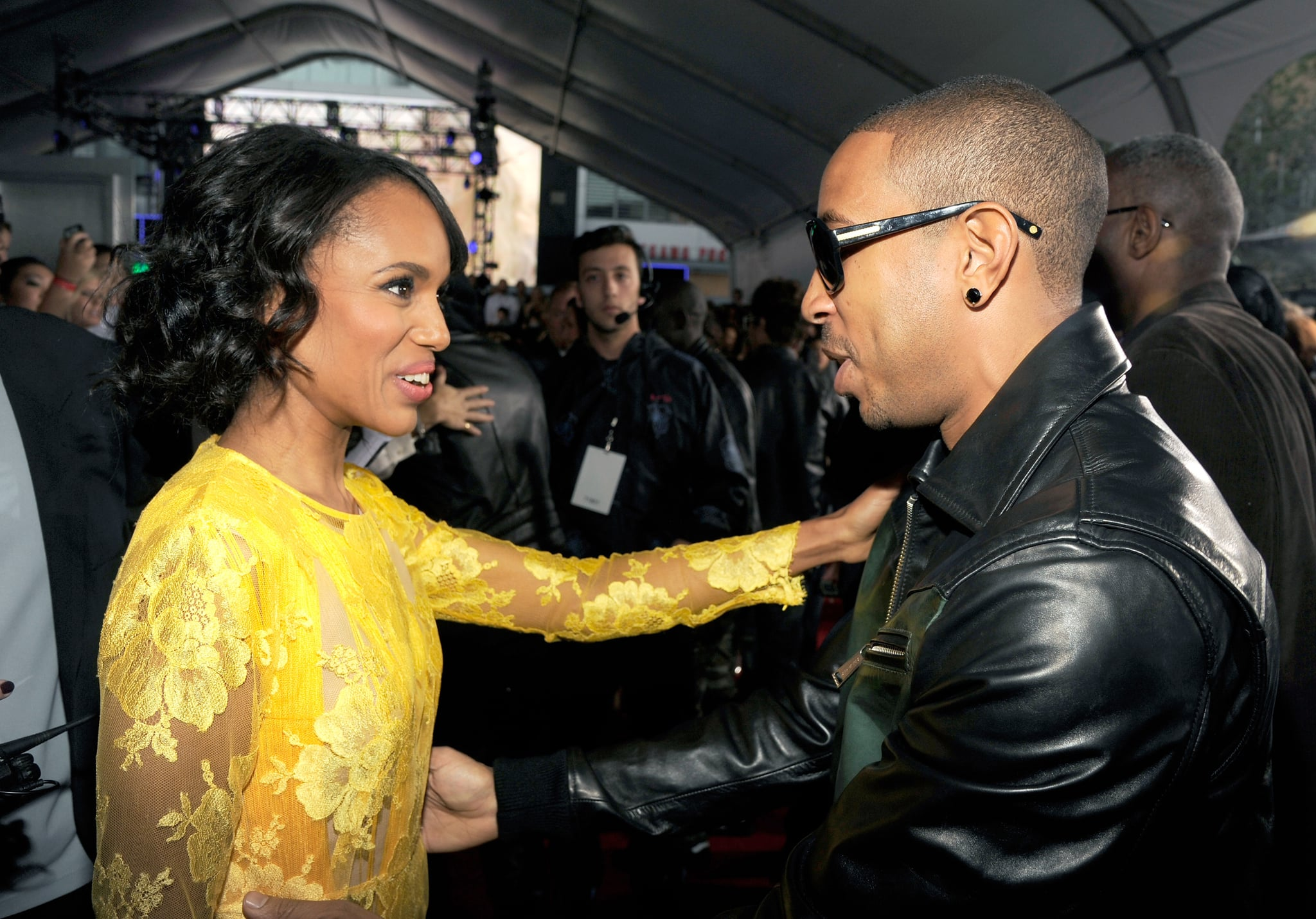 She Doesn't Act a Fool With Ludacris