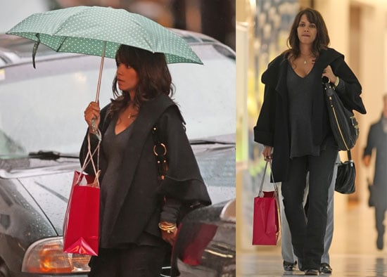Halle Still Shops Rain or Shine