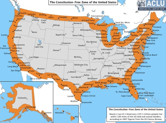 Two Out of Three Americans Living in Constitution-Free Zone