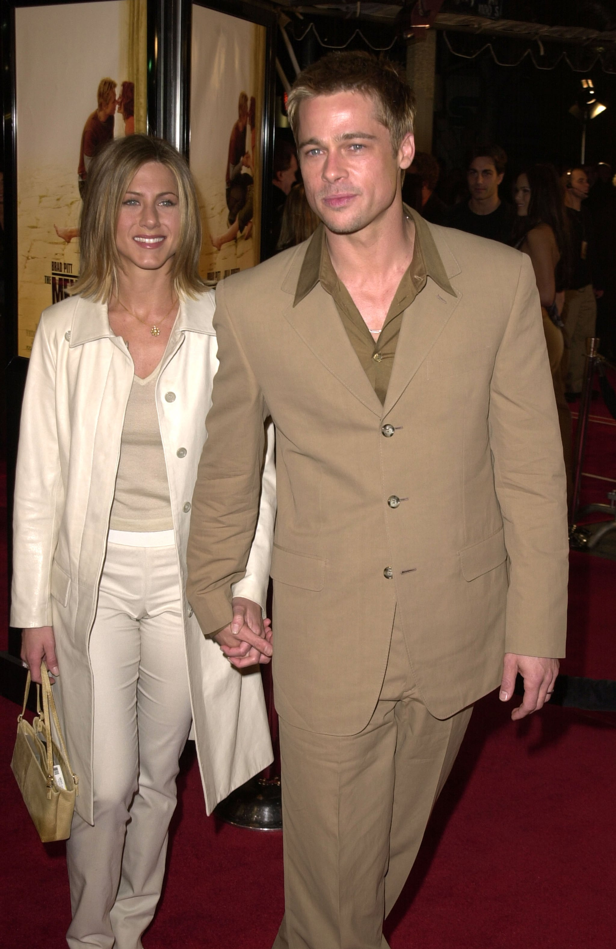 Brad Pitt and Jennifer...