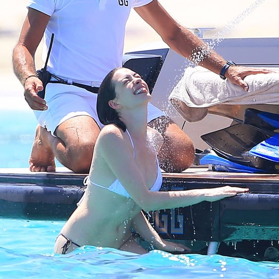 Anne Hathaway and Adam Shulman Spain Vacation August 2015