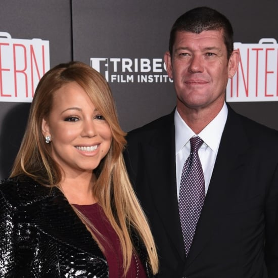 Mariah Carey and James Packer Attend The Intern Premiere