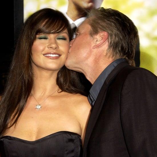 Michael Douglas and Catherine Zeta-Jones Cutest Pictures