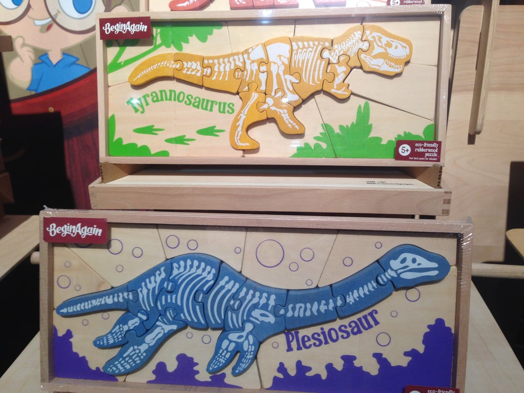 Begin Again Dino Puzzles