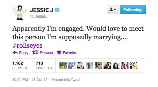 Congratulations, Jessie J! We can't wait for you to meet him, either...