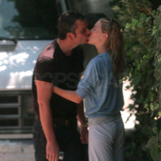 Sienna Miller and Balthazar Getty Kissing