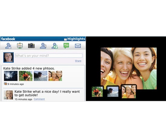 The Latest Facebook For the BlackBerry