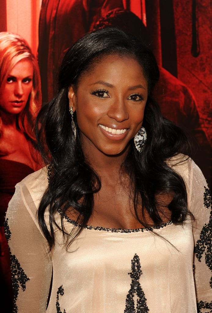 Rutina Wesley looked beautiful on the True Blood red carpet.
