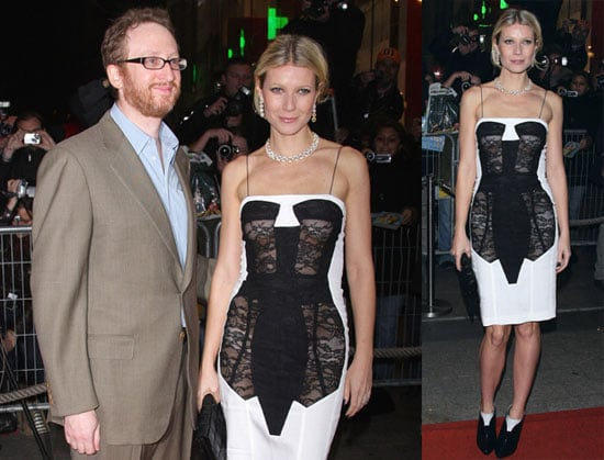 Photos of Gwyneth Paltrow and Catherine Deneuve at the Two Lovers Premiere in Paris