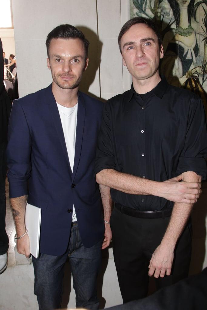 Kris van Assche and Raf Simons