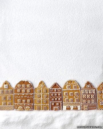 Honey Gingerbread Houses