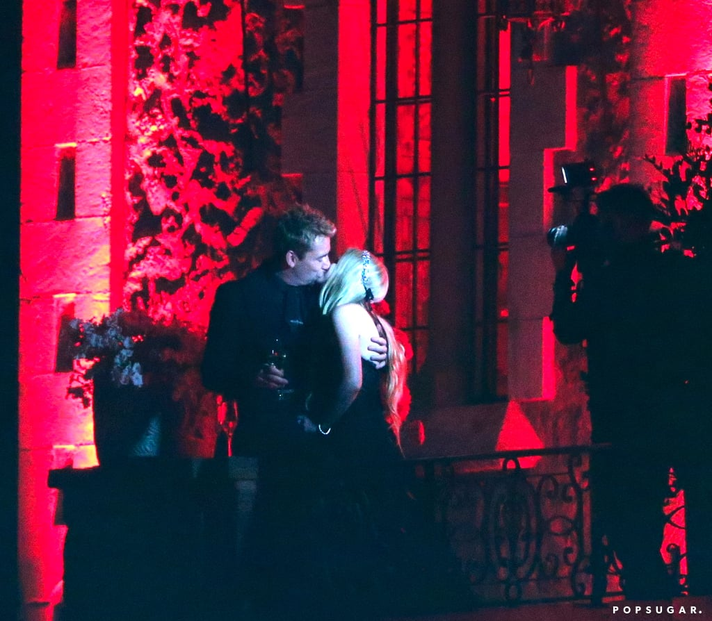 Avril Lavigne wore a black wedding dress to marry Chad Kroeger in the South of France.