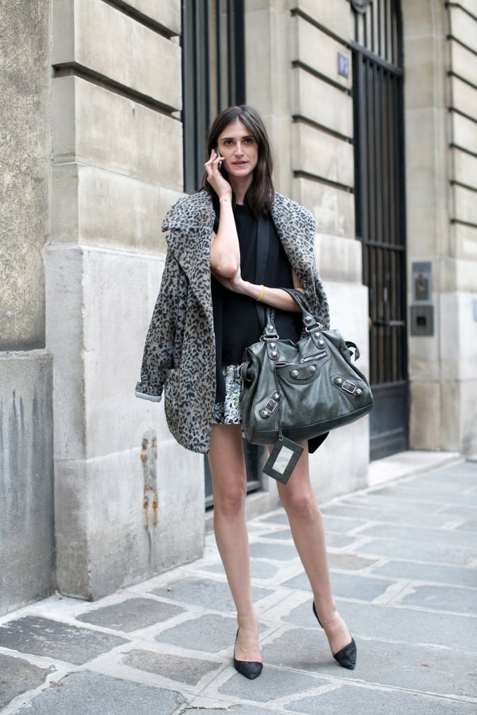 Outerwear (and bag) envy!