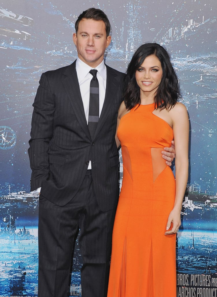 """On what it's like being married to Channing: """"Most actors and actresses are consumed by careers and getting ahead. Channing and I are ambitious, but our relationship comes first. We take everything day by day, saying, 'OK, how can we make this work together?'"""" On their long-lasting relationship: """"It's all wonderful. He's amazing, he's the sweetest man. We've been together seven years, married three. That's like 20 in Hollywood years. That's amazing!"""""""