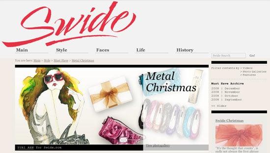 Dolce & Gabbana Creates Online Magazine Called Swide.com