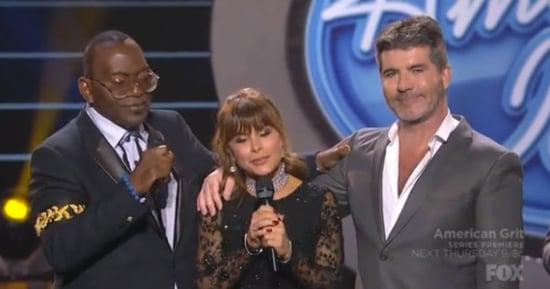 Simon Cowell Has Emotional 'American Idol' Reunion With Paula Abdul, Randy Jackson: Watch
