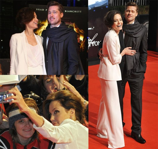 Photos of Brad Pitt and Angelina Jolie at Curious Case of Benjamin Button Premiere in Berlin