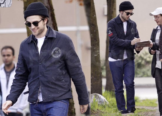 Pictures of Robert Pattinson Having Lunch in Vancouver