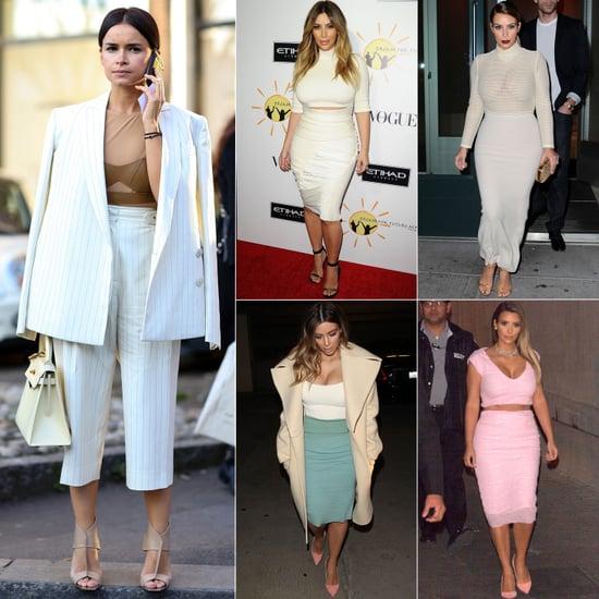 Kim Kardashian and Miroslava Duma Have Similar Style