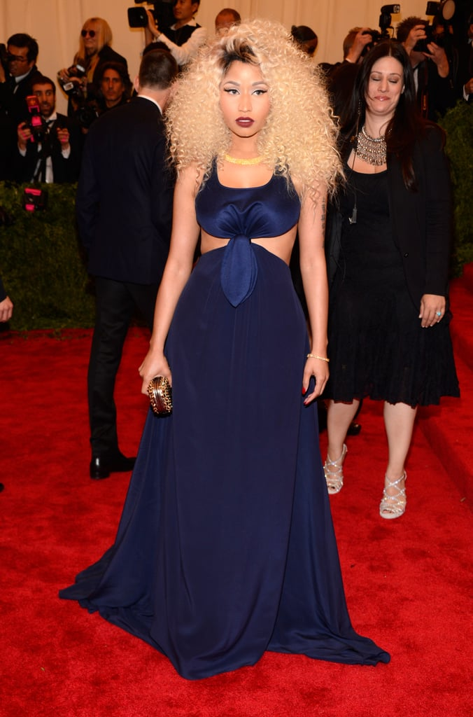 Nicki Minaj at the Met Gala 2013.