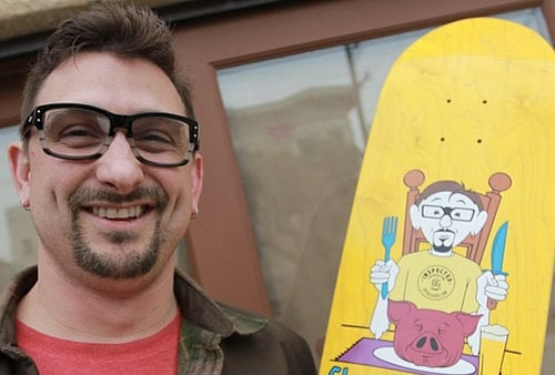 Here's a Skateboard Designed by Chris Cosentino